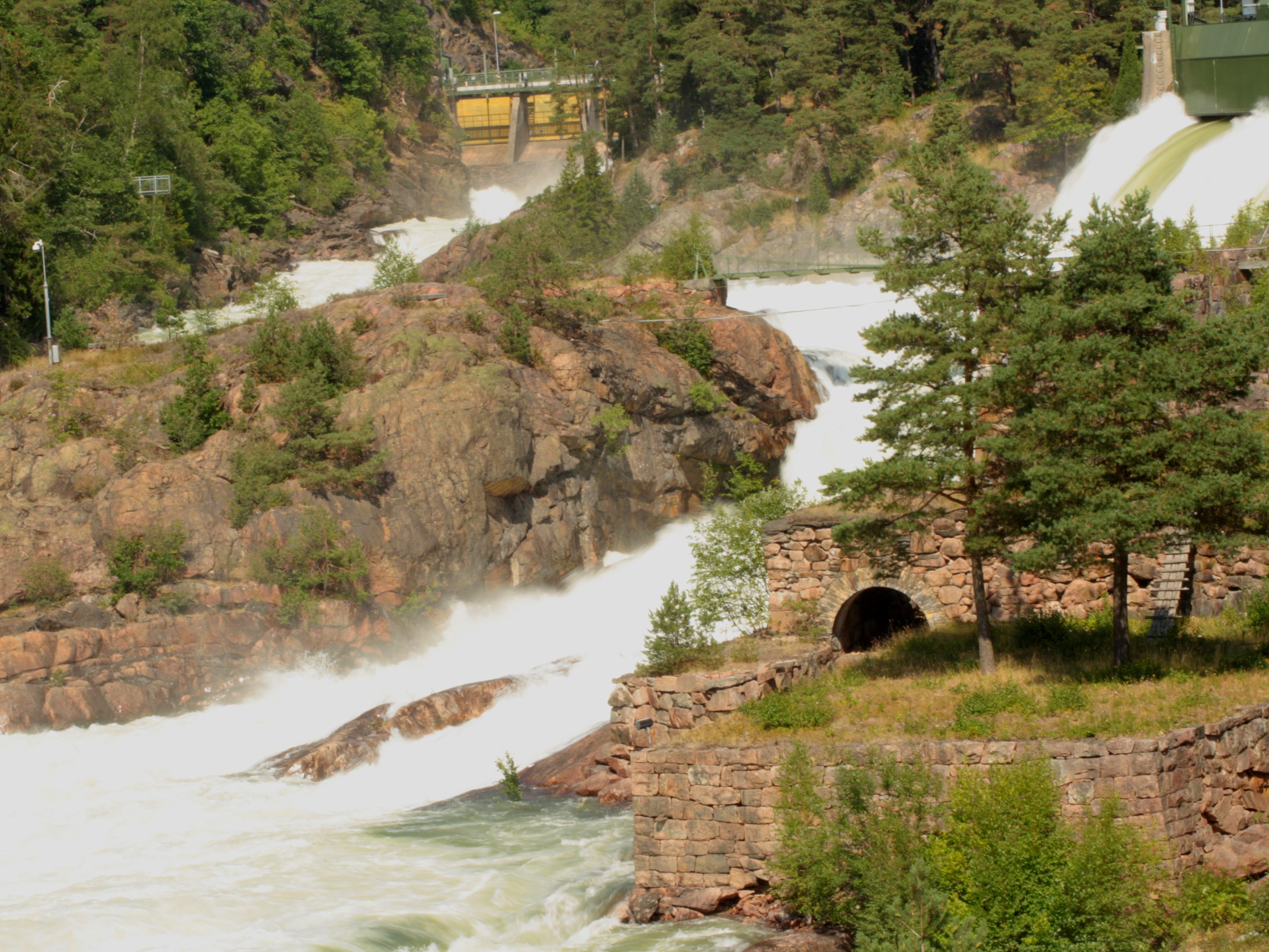 Vatteneglering vid Trollhättefallen