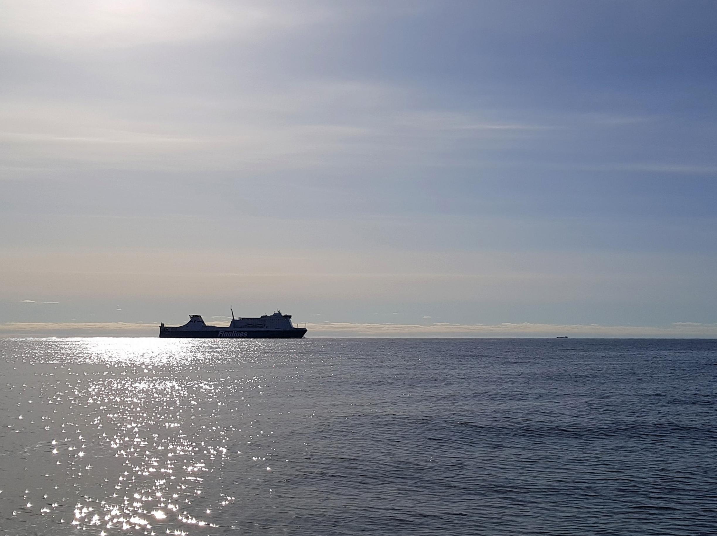 Fartyg på håll