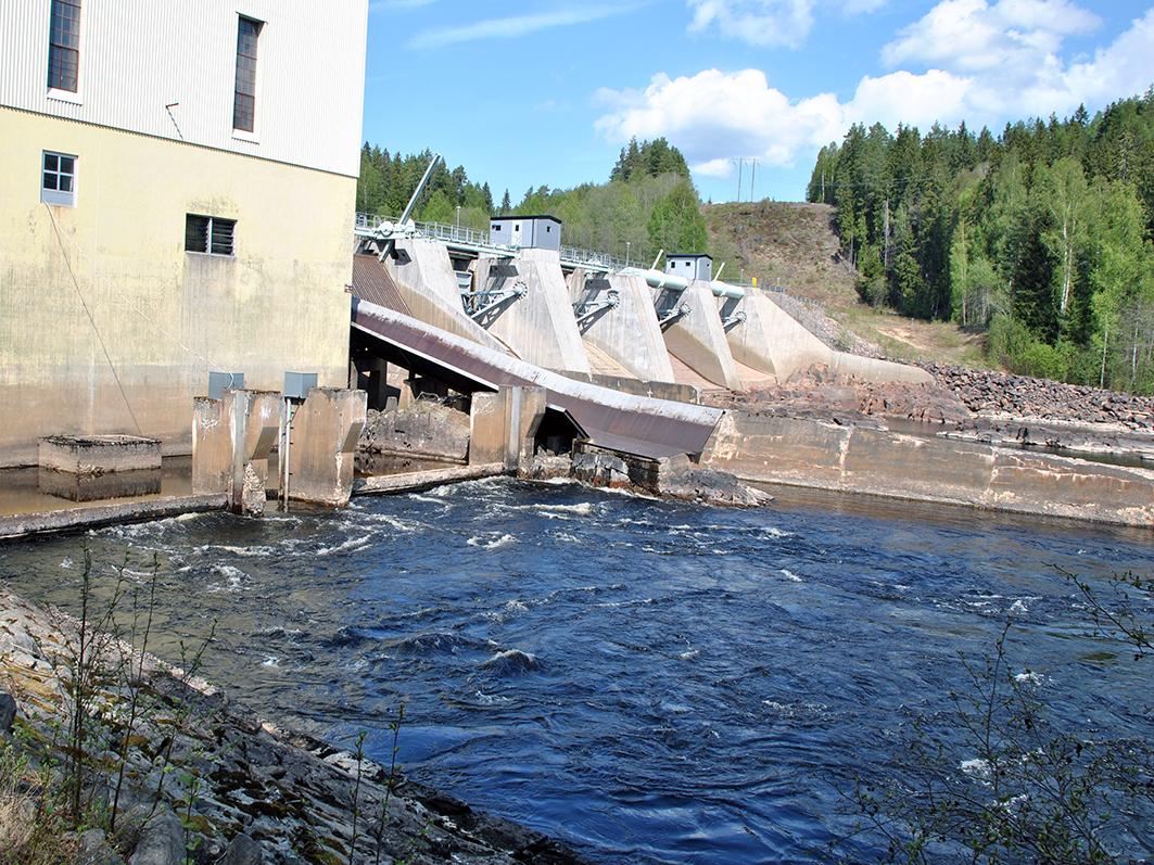 Vattenkraftverk Skymnäs