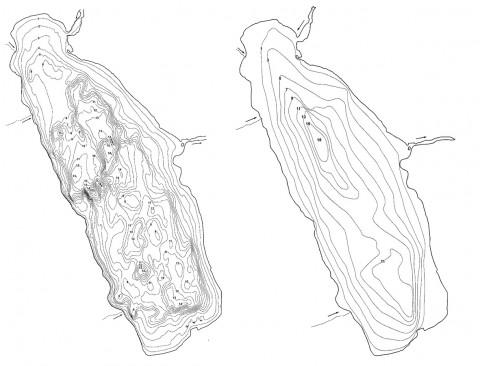 Exempel på förättrad djupkarta